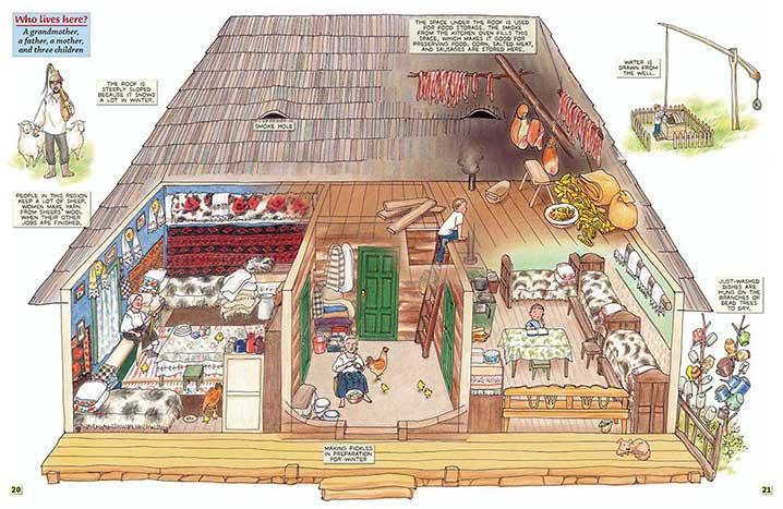 Wonderful houses shelter publications - Romanian peasant houses ...
