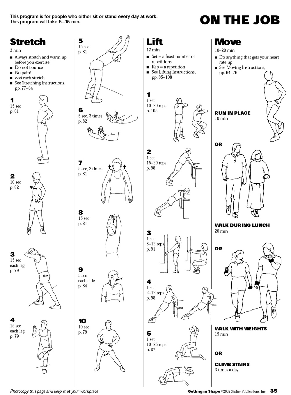 dumbbell workout poster pdf