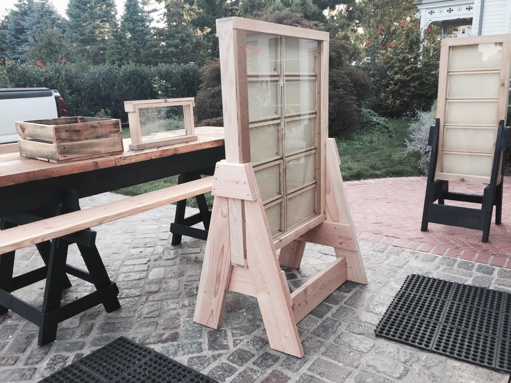 Custom designed Observation hives