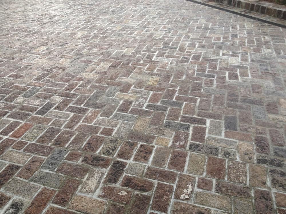 Antique Stone Paving Installations