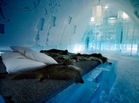 Ice hotel trip 冰旅館參觀