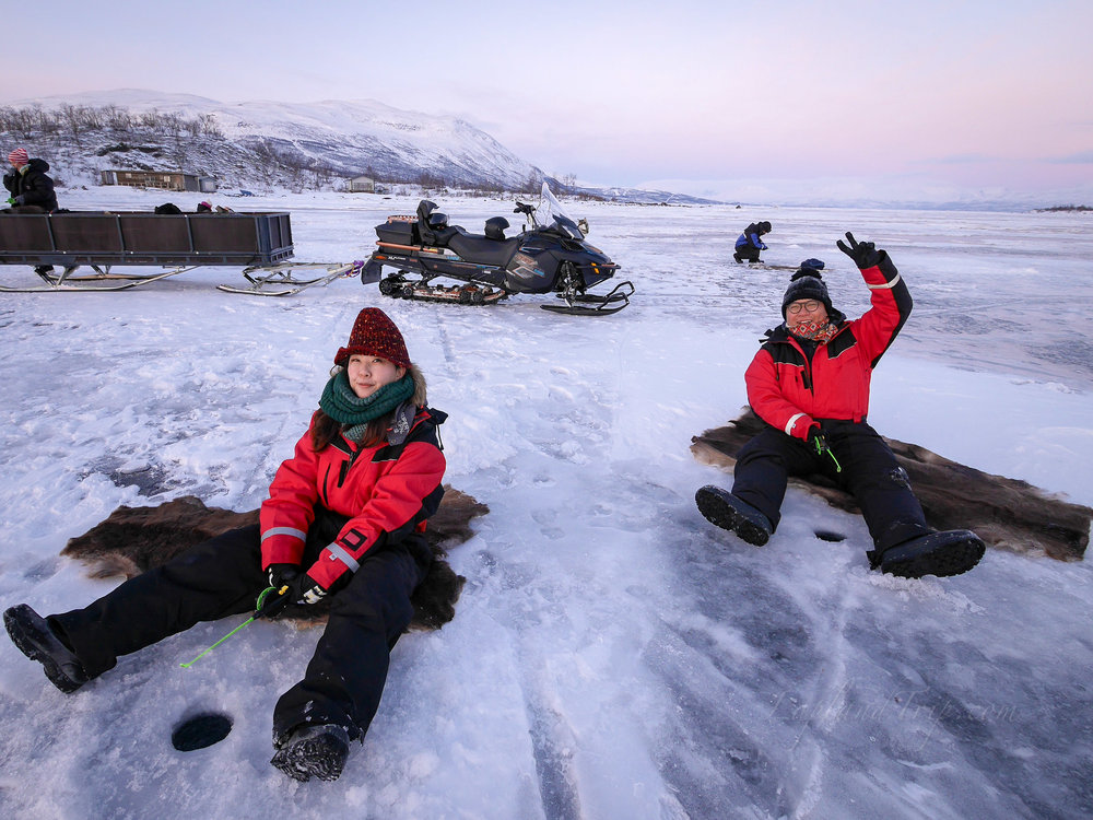 Ice fishing 冰釣