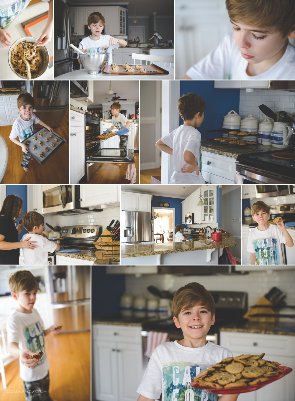 cary family photographer baking cookies 2