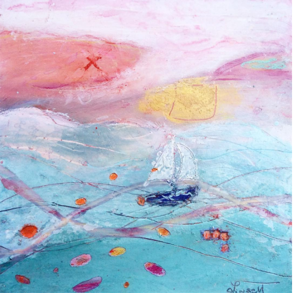 """Sunset Sail to Prevost Island"" by Lisa Lipsett"