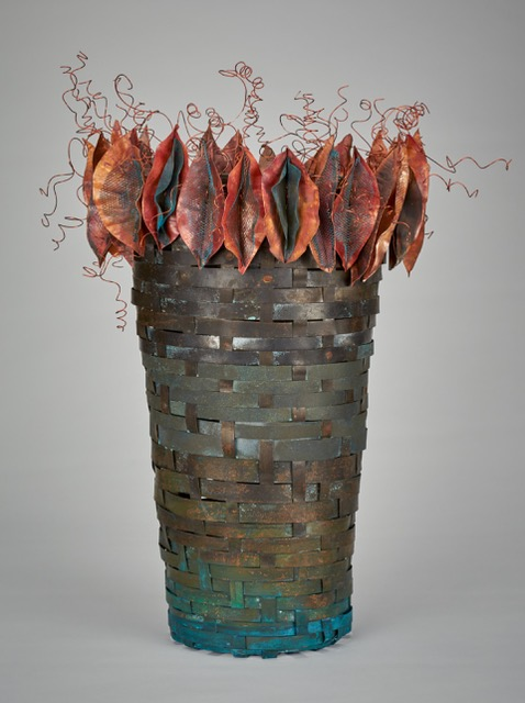 Melanie Thompson- Orange leaved vessel