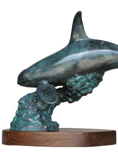 "Orca Spirit 22"" $2,795.00 USD by Simon Morris"