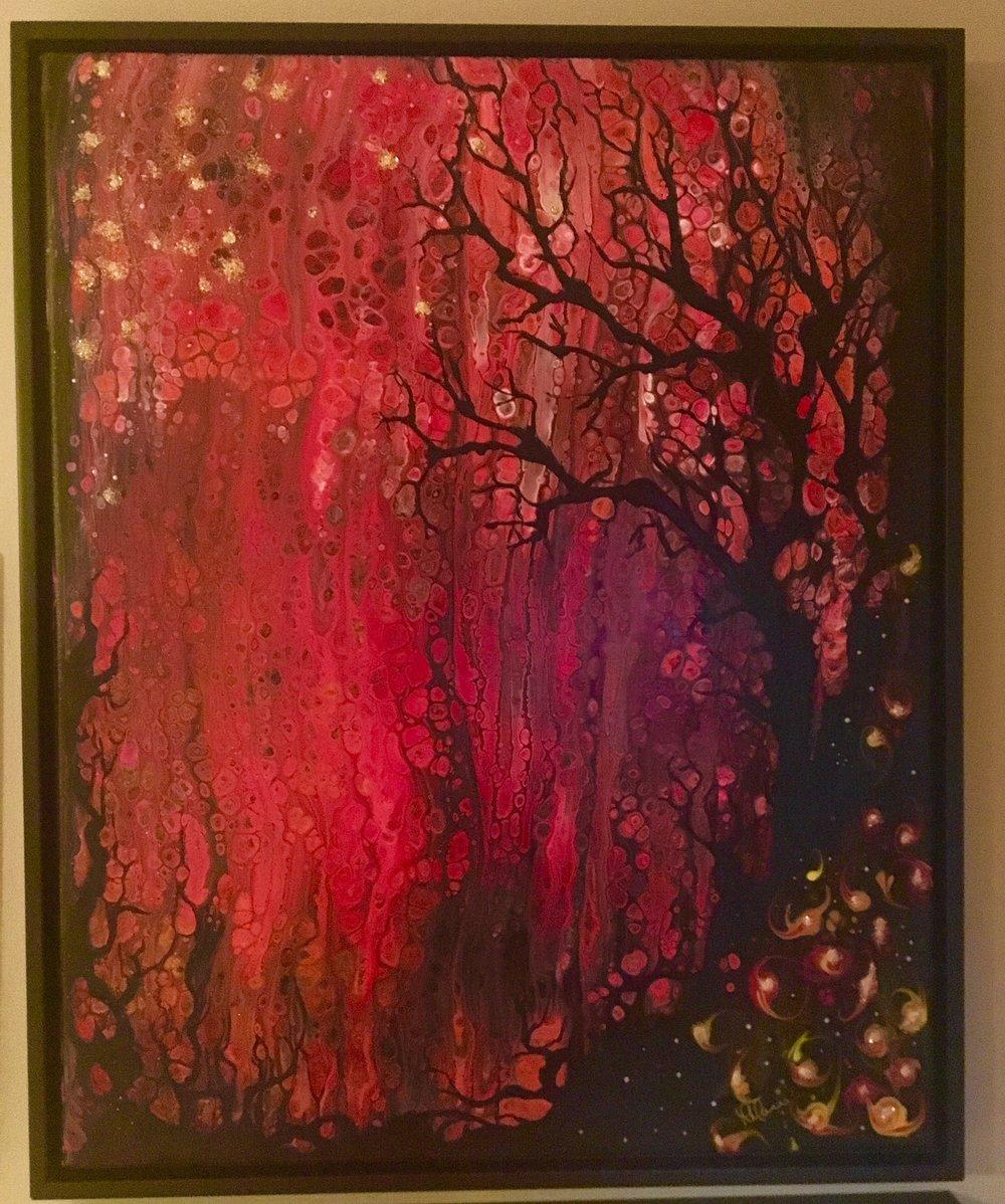 Firestorm - 16x20  $425 Melanie Morris