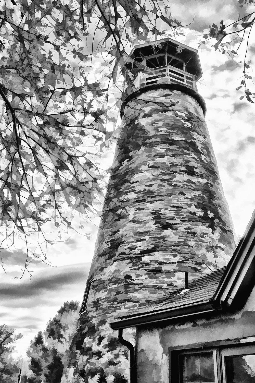"""Barcelona Lighthouse"""