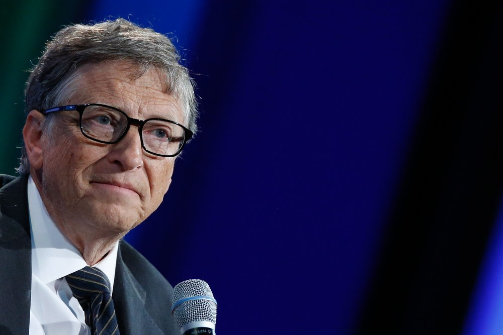 Bill Gates shows an evolved level of empathy for those that he is in contact with.