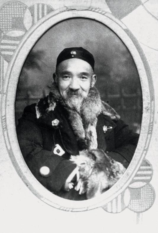 Son grand-père paternel, vers 1925. Droits réservés