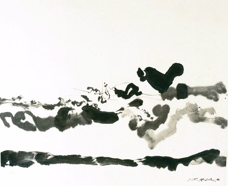 Zao Wou-Ki, 2005, China ink on paper