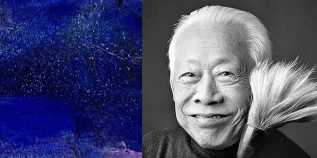 """""""Zao Wou-Ki, peintre collectionneur"""", ami des plus grands maîtres de la peinture moderne  © F3 / Dennis Bouchard"""