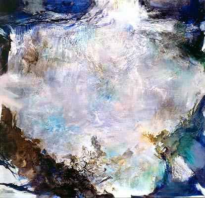 """""""03.12.74"""" Oil on canvas, 1974 250 x 260 cm Musée des Beaux-Arts, Orléans"""