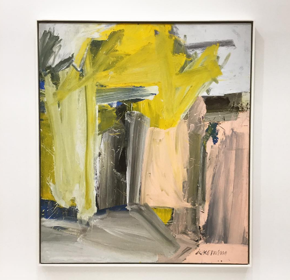 Willem de Kooning, Door to the River (1960), via Art Observed