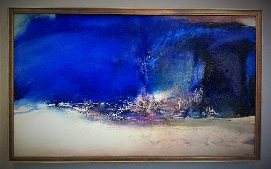 07.06.85(1985) – Zao Wou Ki