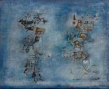 Nous deux , 1955, Musée d'art moderne André Malraux, Le Havre, Tous droits réservés