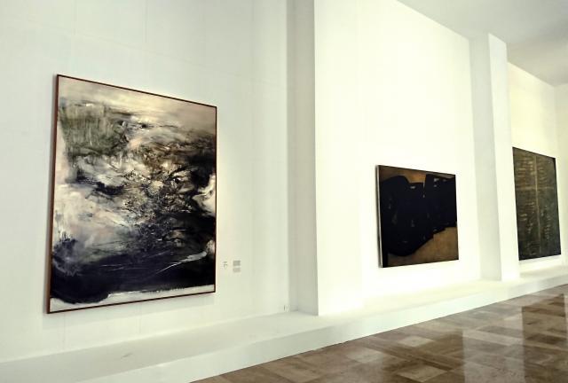 Salle Amon, Musée d'art moderne de la Ville de Paris. Droits réservés