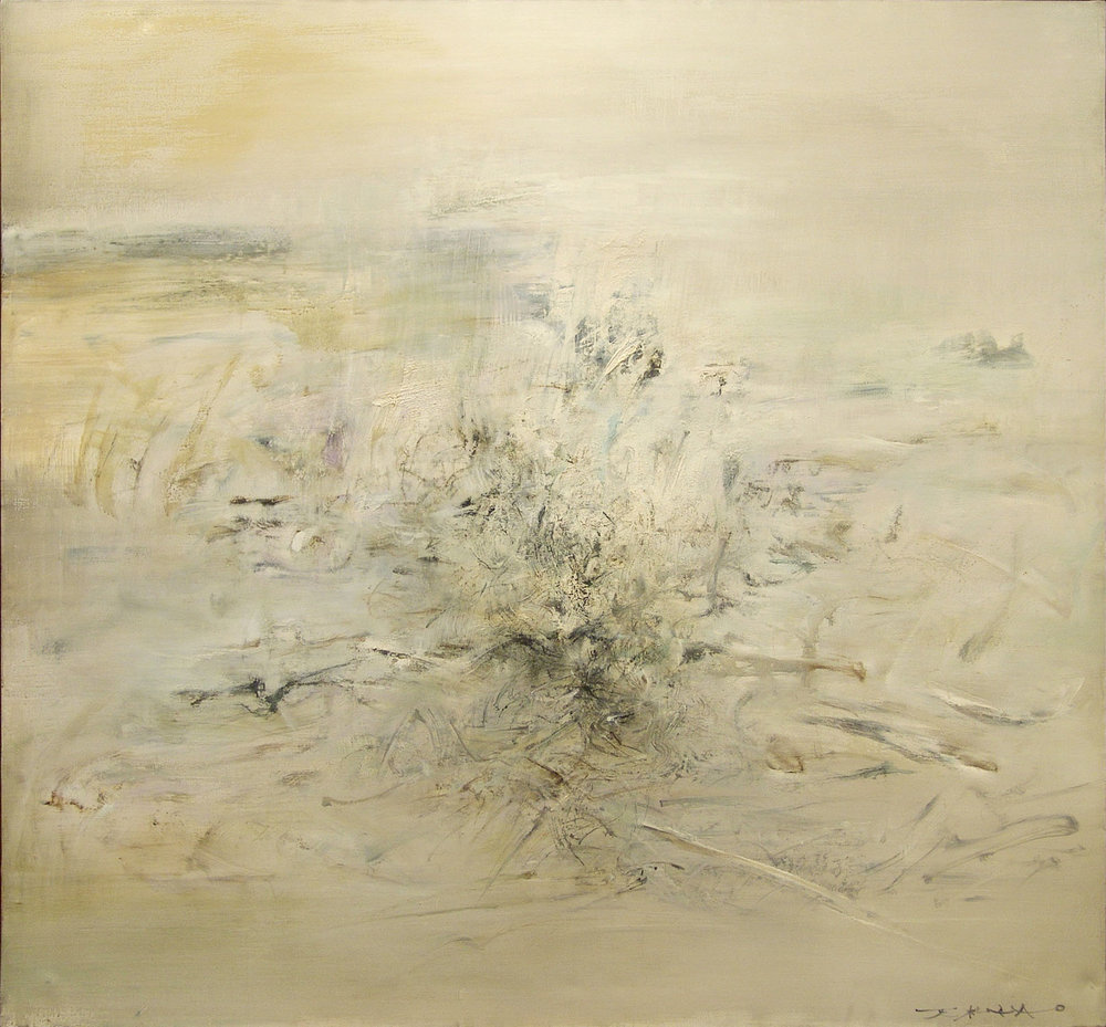 Zao Wou-Ki, ' 02.07.62 ' (1962, 152 x 164 cm).  All rights reserved.