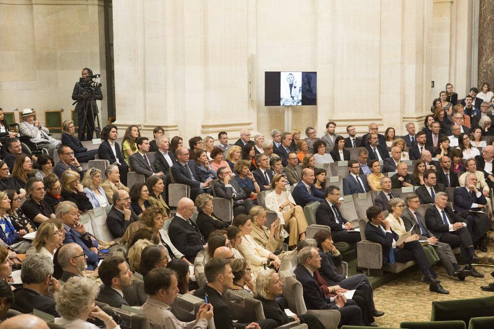 Jean-Marc Bustamante's appointment at the académie des beaux-arts 01. DR