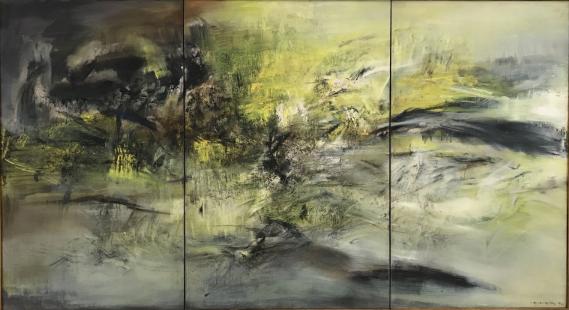 Zao Wou-Ki, Musée d'Art Moderne de Paris