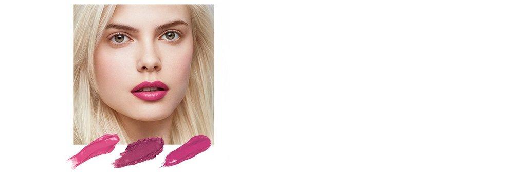 Kühles Blond & Graues Haar | Aschige Töne  Guava, ein sattes Pinkrosa, Sugar Apple mit sattem schimmerndem Rosaviolett, und Lychee in knalligem Pink die Aschnuancen deiner Haare.