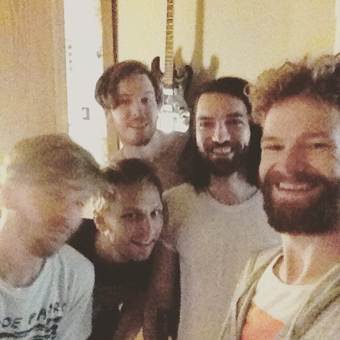 Grainiest and most un-fabulous band selfie ever at the end of 5 days in the studio.  Stay tuned ya'll!! #fulllengthrecordintheworks
