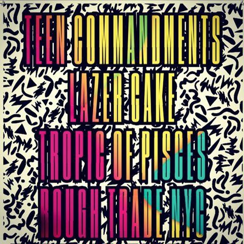 Goooooooood morning!  Happy to announce our next show is Friday, Aug. 14th @roughtradeNYC w/ Teen Commandments and @tropicofpisces @ParadiseInNYC . Ticket link in bio. #advancetixarethebestandweallknowit