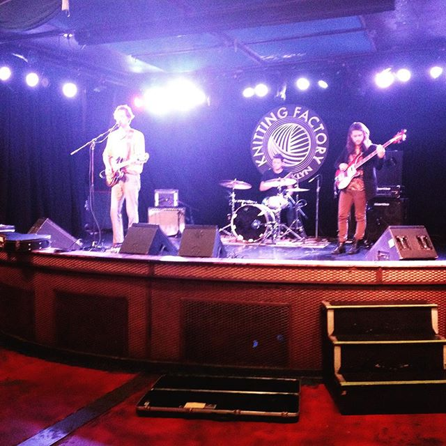 @hnry_flwr sounds awfully good in soundcheck ya'll. See you tonight!!