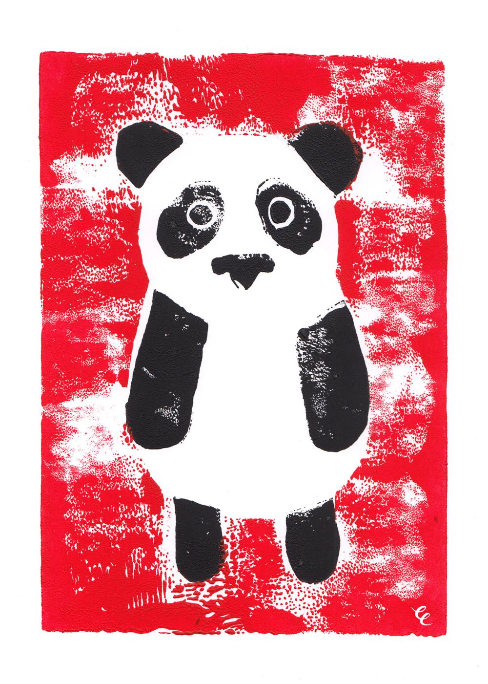 WEEK 8:  Pressed Panda