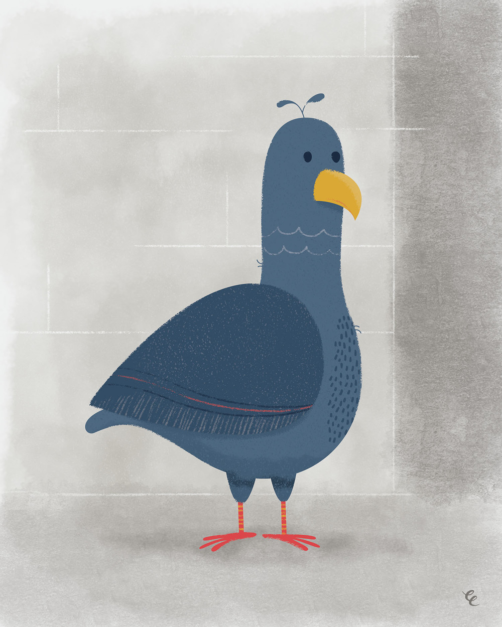 WEEK 33:  a Pigeon