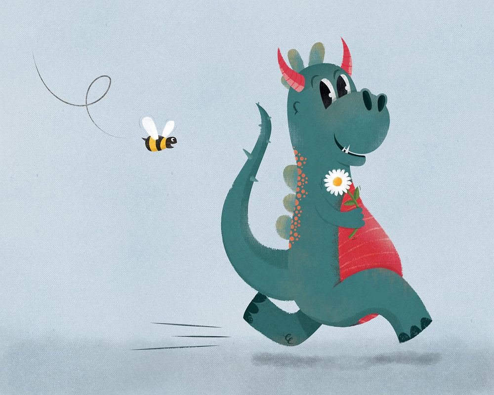 Week 39,  Dragon and Bee