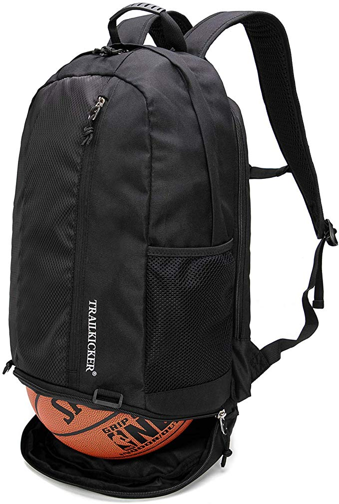 Camo Swimming Beach TRAILKICKER 26L Basketball Backpack with Ball Compartment Shoe Bag and Padded 17 Laptop Compartment Perfect for Soccer Football Indoor Outdoor Sports Gym Bag Volleyball