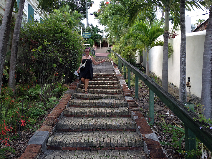 Playing tourist in historic Charlotte Amalie