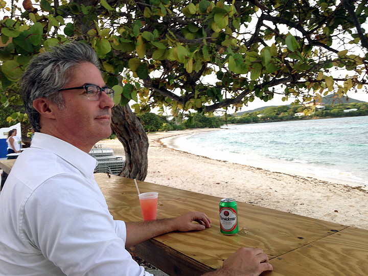 HOW DID IT TAKE US FOUR MONTHS TO REALIZE THERE WAS A BEACH BAR RIGHT BEHIND OUR OFFICE?