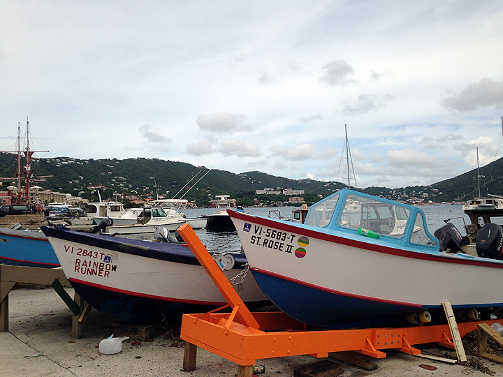 Fishing boats in Frenchtown