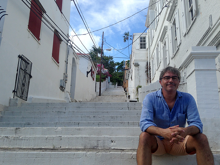 Touristing in historic Charlotte Amalie