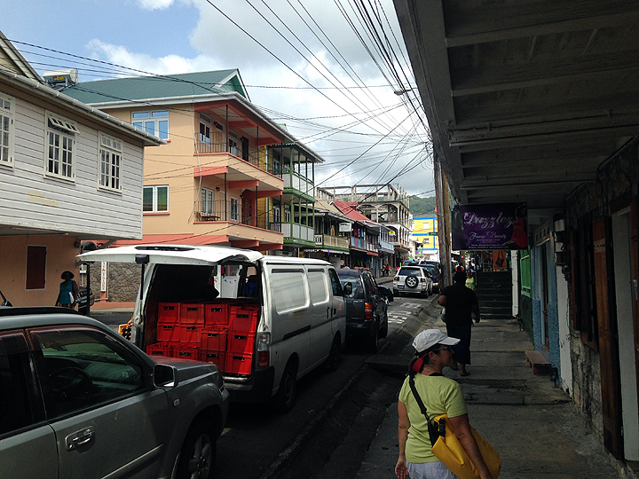 King George V Street, Roseau, Dominica