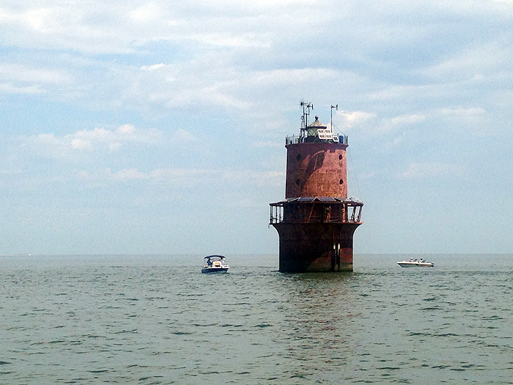 Thimble Shoal Light, lower Chesapeake