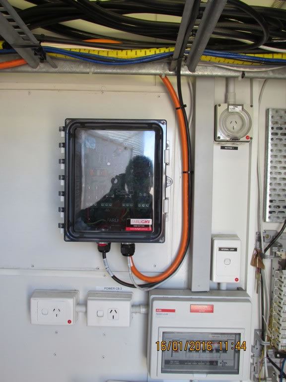 Another NV-1000 installed to monitor the status of the Aircraft warning lights on site.