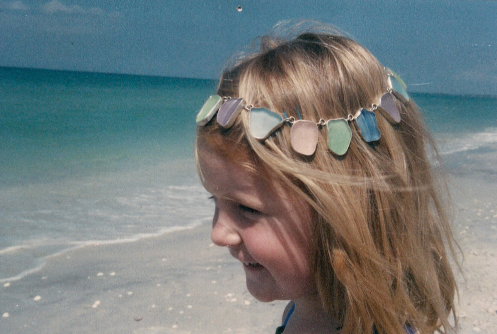 a very young matilda in boca grande