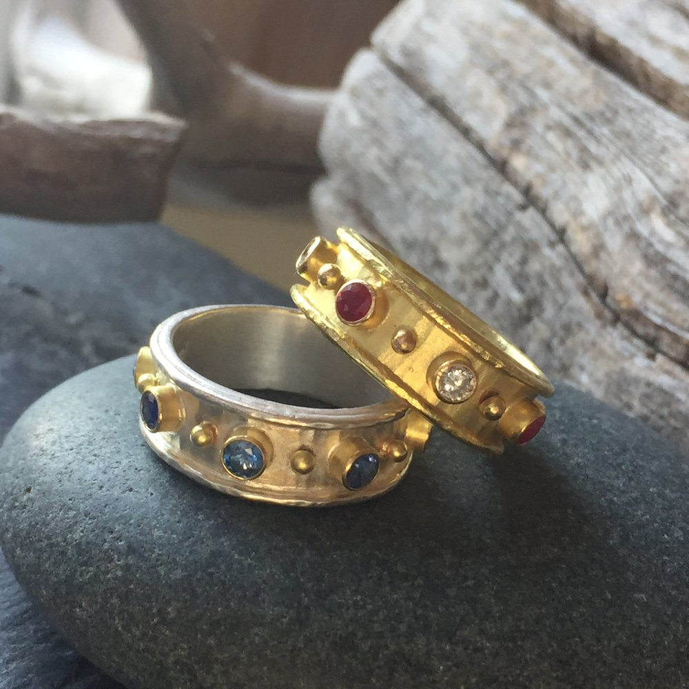 garnet renaissance products and nancy cut hero gold ring in jewelry at buy rings rose troske