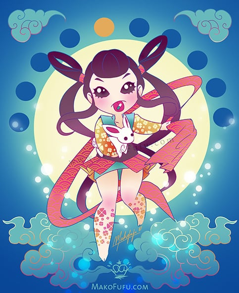 Chang'e, the Moon Goddess - 2013