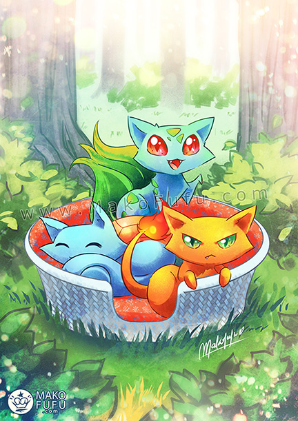 Basket of Pokekitties - 2016