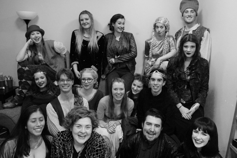 "The cast of Dirty Laundry: The Young Company - ""Game of Soaps"""