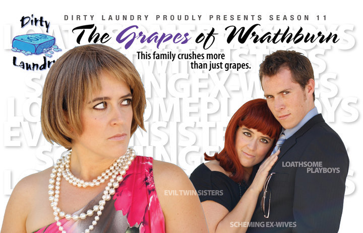 Poster image for The Grapes of Wrathburn, season 11. Fun fact: Mayor Naheed Nenshi guest stared this season!