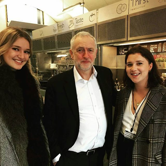 Our @the_back_bench team with Leader of the Opposition, Jeremy Corbyn! Stay tuned for more updates of upcoming episodes!