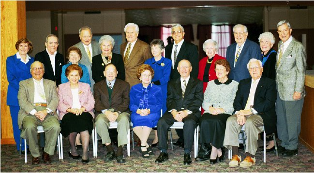 Emeritus Members honored in 2005