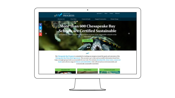ChesapeakeProgess Homepage Screenshot.jpeg