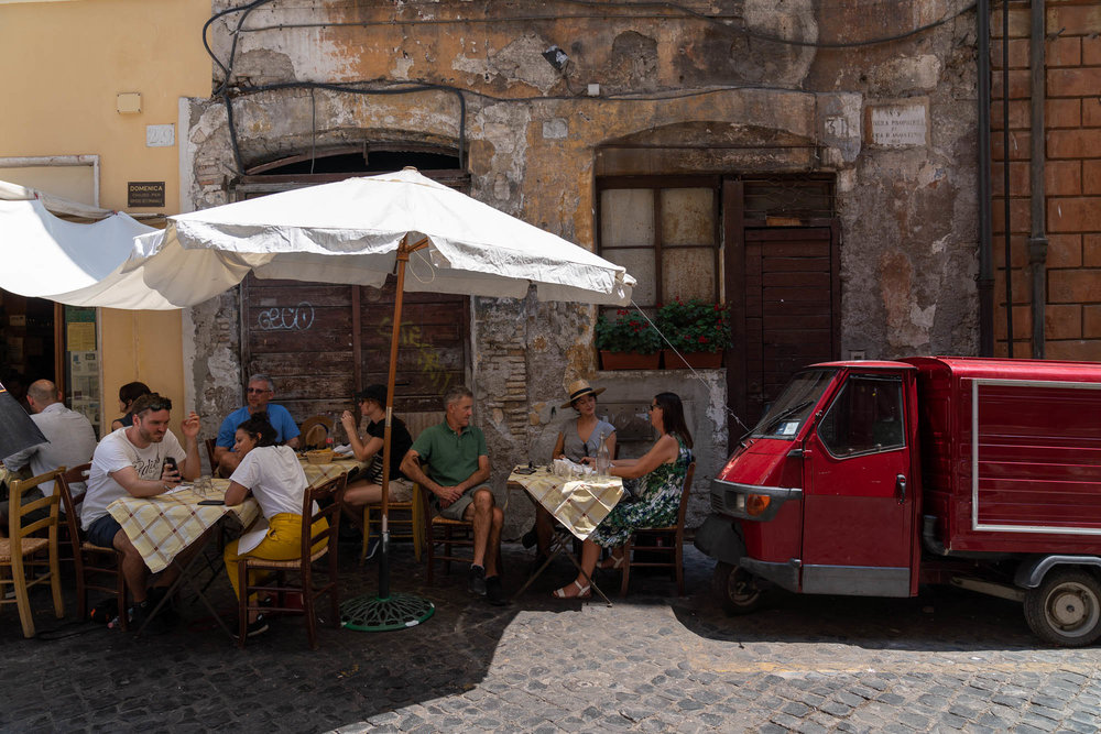 Da Enzo, Trastevere, Rome