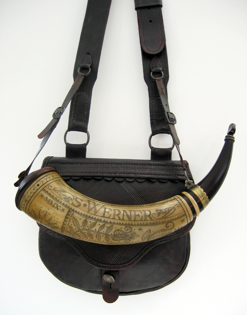 Germanic Style Bag and Horn